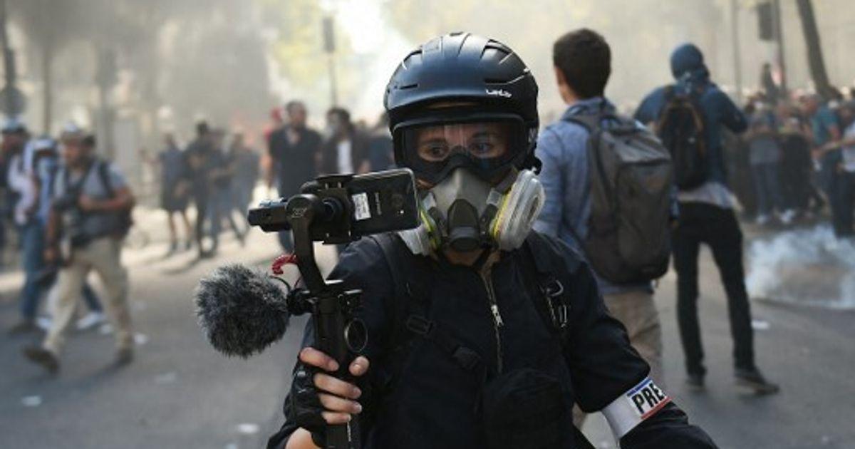 Des règles controversées visant les journalistes en manifestation annulées par le Conseil d'État