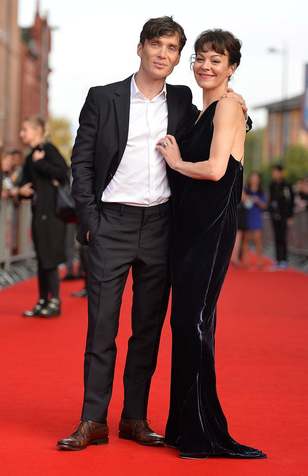Cillian Murphy and Helen McCrory pictured in