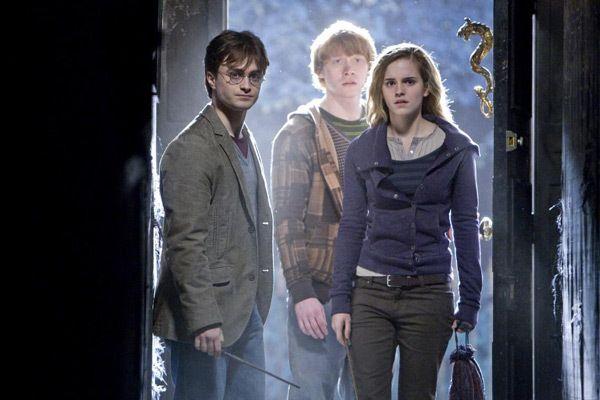 Harry, Ron et Hermione incarnés à l'écran par Daniel Radcliffe, Rupert Grint et...