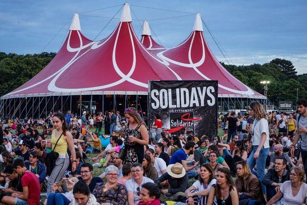 La 21e édition du festival Solidays à l'hippodrome de Longchamps, le 22 juin