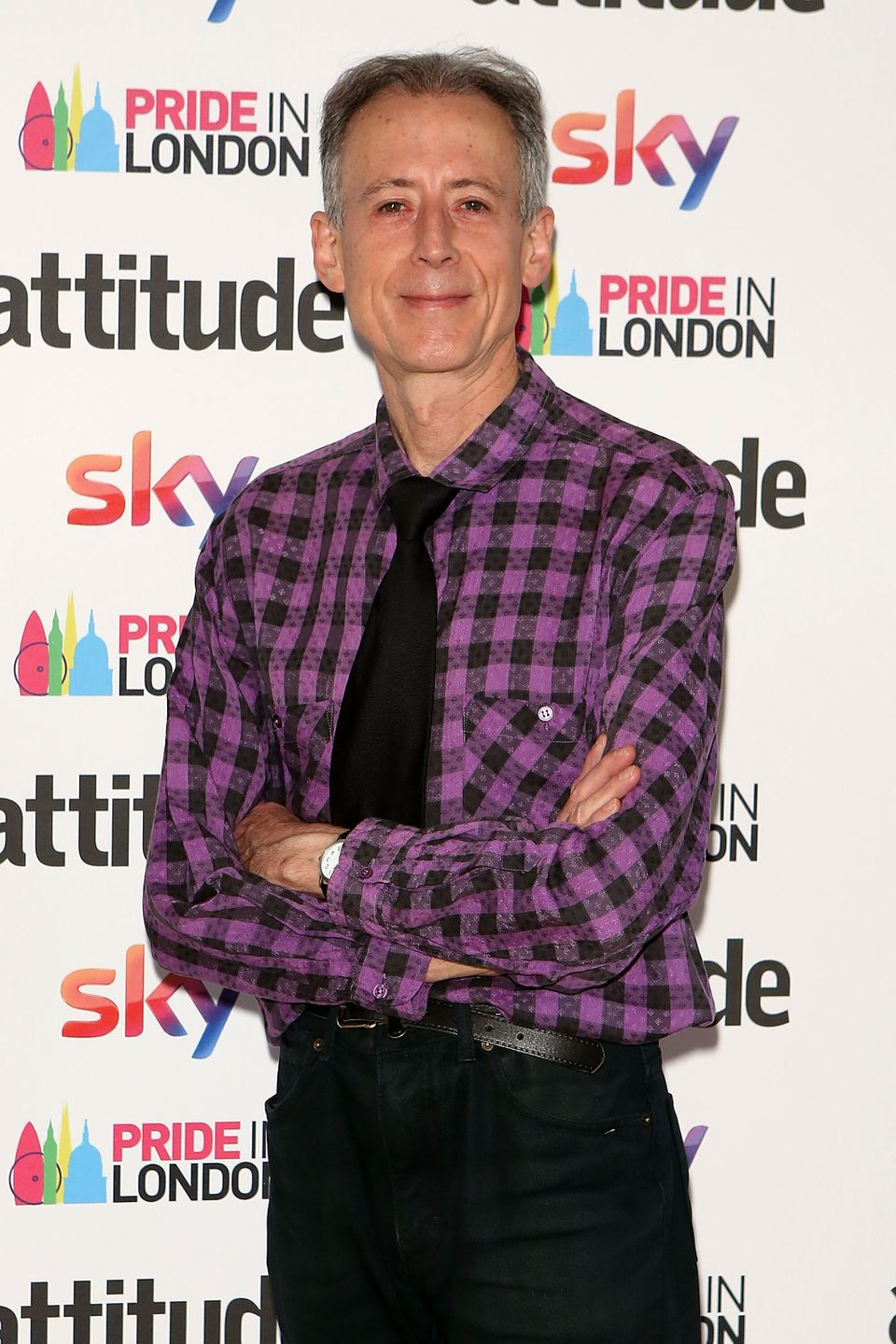 Peter Tatchell at the Attitude Pride Awards in