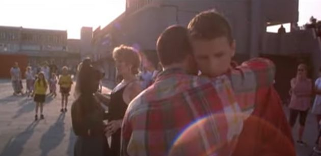 Glen Berry and Scott Neal in the final scene of Beautiful Thing