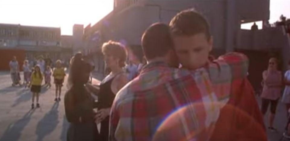 Glen Berry and Scott Neal in the final scene of Beautiful