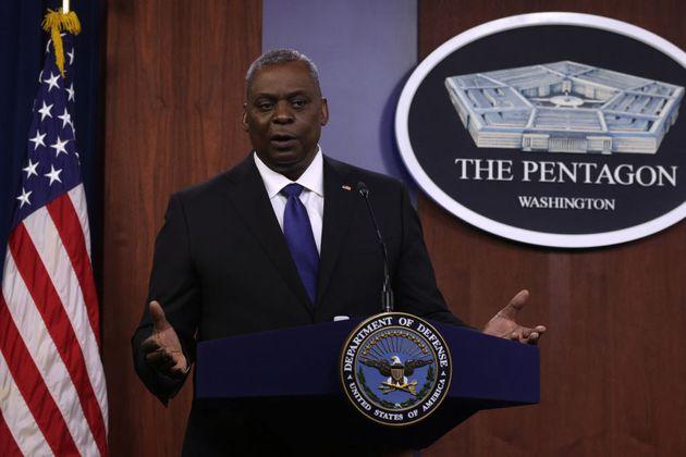 El secretario de Estado de Defensa de Estados Unidos, Lloyd Austin, el pasado 6 de mayo, en el