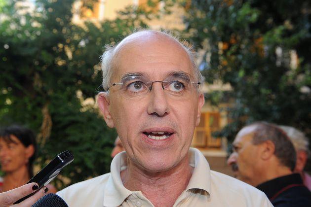 GENOA, ITALY - JULY 20: Vittorio Agnoletto attends the tenth anniversary of Carlo Giuliani's death in...