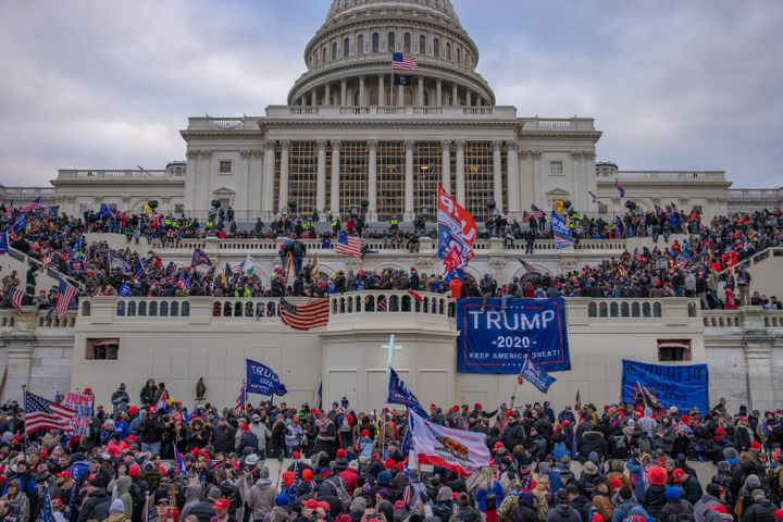 Supporters of then-President Donald Trump stormed the U.S. Capitol building on Jan. 6.Seth Aaron Pendley, who has been