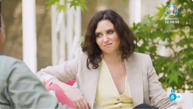 Bertín Osborne entrevista a Isabel Díaz
