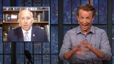 Seth Meyers: Representative Louie Gohmert's orbit question was stupid, however you look at it