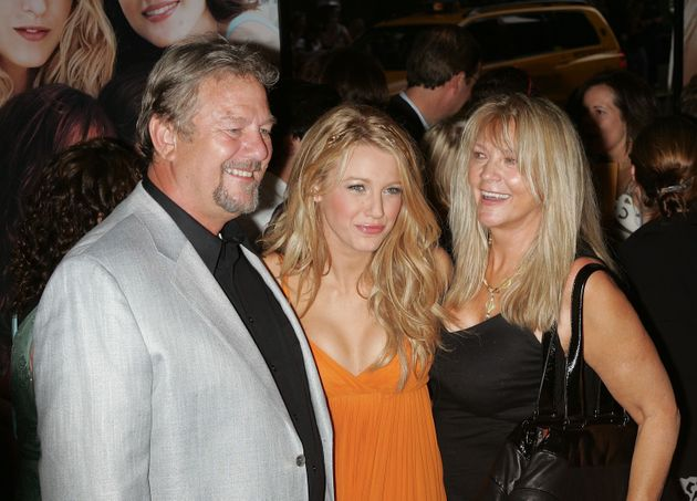 Ernie with Blake and wife Elaine pictured in