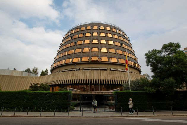 La sede del Tribunal Constitucional, en Madrid, en una foto de