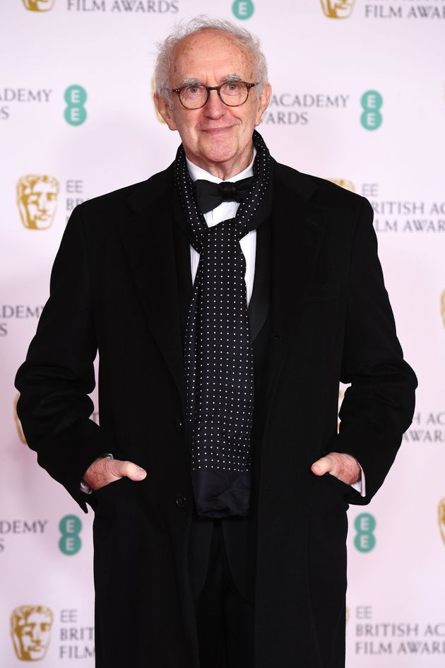 Jonathan Pryce pictured at the Baftas earlier this
