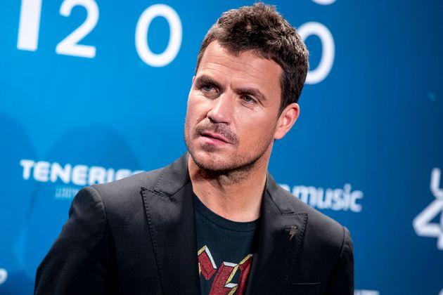 El cantante Dani Martín en Los 40 Music Awards 2020 en