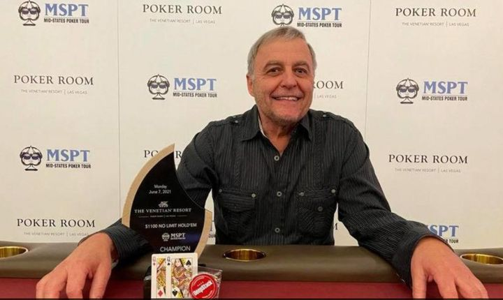 Harlan Miller skipped his niece's wedding for a Las Vegas poker tournament and came home $367,800 richer.