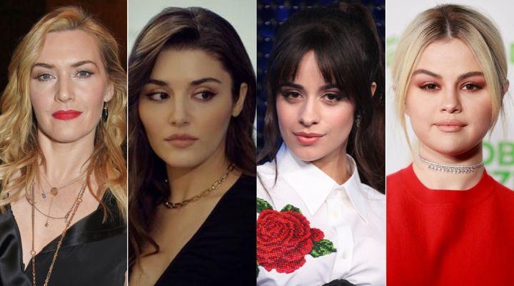 Kate Winslet, Handel Erçel, Camila Cabello y Selena Gomez.