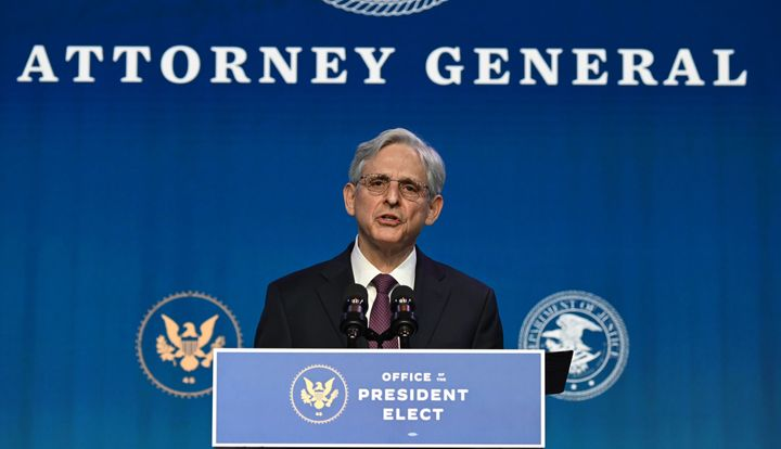 """Attorney General Merrick Garland pledged to """"ensure that we protect every qualified American seeking to participate in our de"""