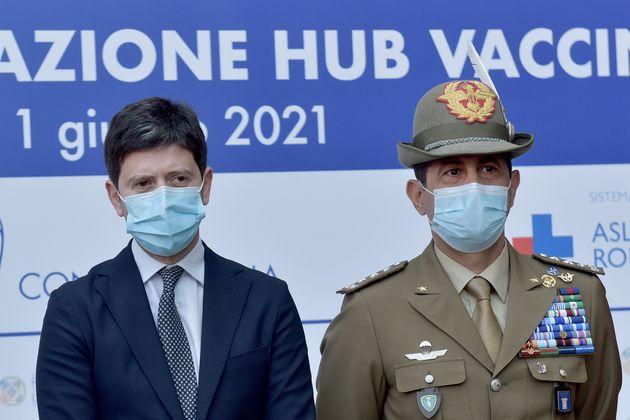 ROME, ITALIE - 01 JUIN: Le commissaire extraordinaire pour l'urgence du coronavirus, le général Francesco...