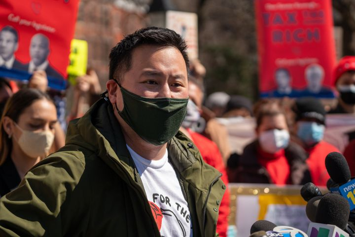 New York Assemblyman Ron Kim (D), one of Albany's more outspoken progressives, believes that Yang is receptive to left-leanin