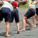 運動会でまさかの「やけど」 原因はダンスの足もと