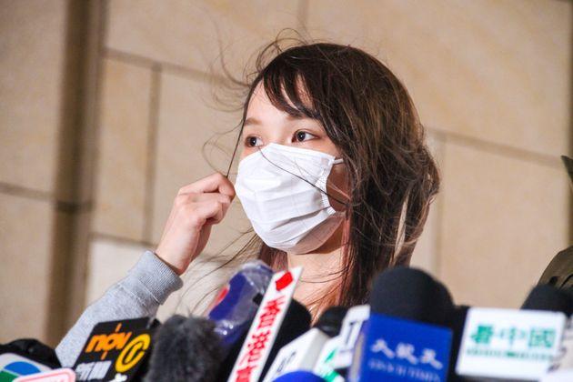 周庭さん(写真は2020年11月23日)