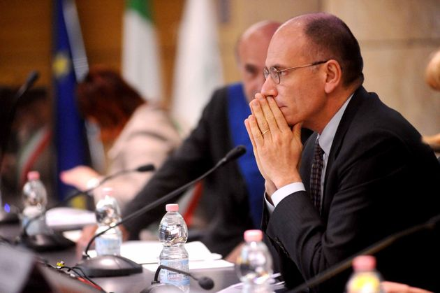 BOLOGNA, ITALY - MAY 30: Italian Prime Minister Enrico Letta attends a meeting with the Mayors of lands...