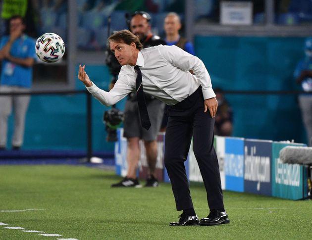 Soccer Football - Euro 2020 - Group A - Turkey v Italy - Stadio Olimpico, Rome, Italy - June 11, 2021...
