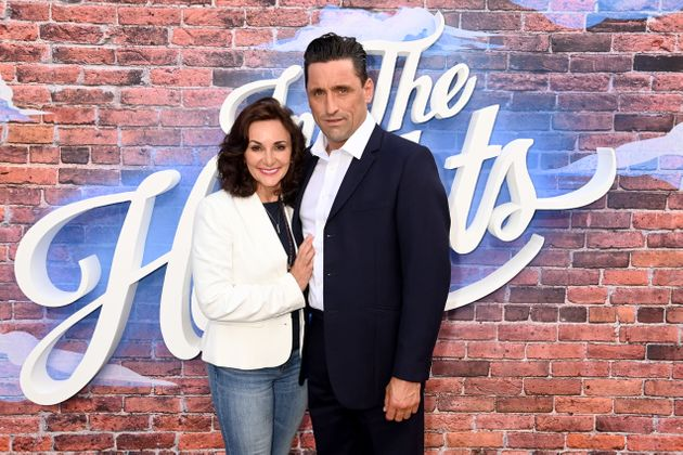 Shirley Ballas and her partner Danny
