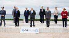 'Action Figures' Photo Of Joe Biden With G-7 Leaders Becomes A Meme