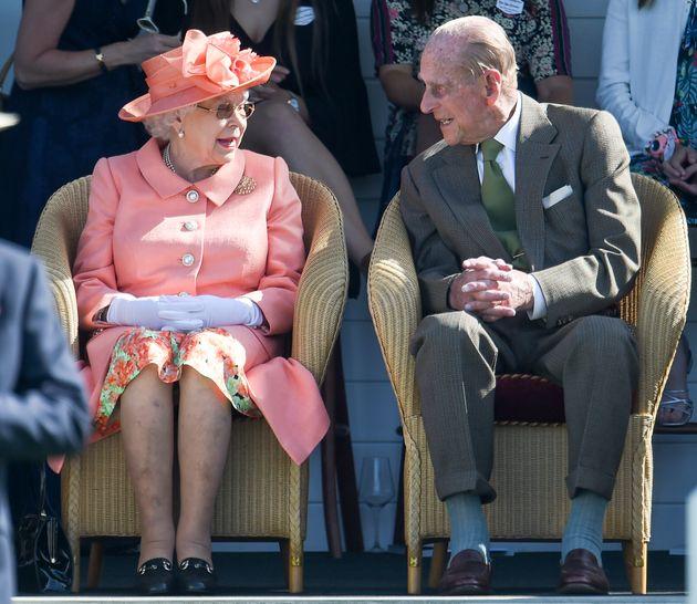 Queen Elizabeth II and Prince Philip in