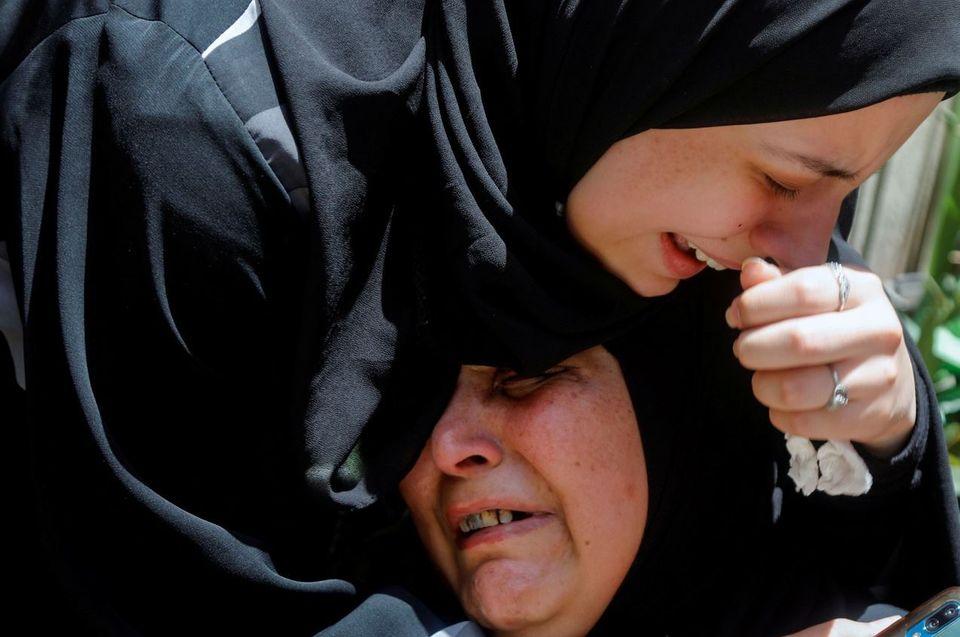 Συγγενείς του παλαιστίνιου...