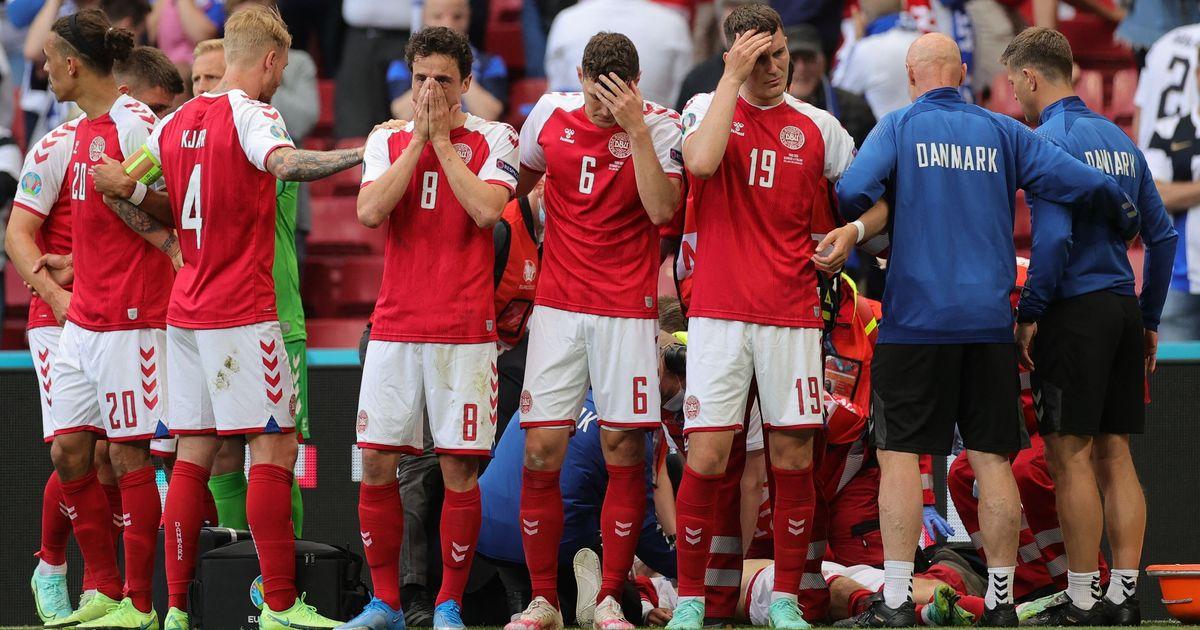 Preocupación por Christian Eriksen, jugador de Dinamarca, tras desplomarse en pleno partido contra Finlandia