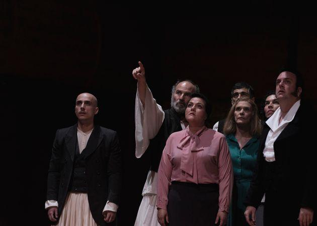 ΕΛΣ: Η παράσταση των Μ. Μαρμαρινού - Α. Καραζήση για την Επανάσταση του 1821 στην GNO