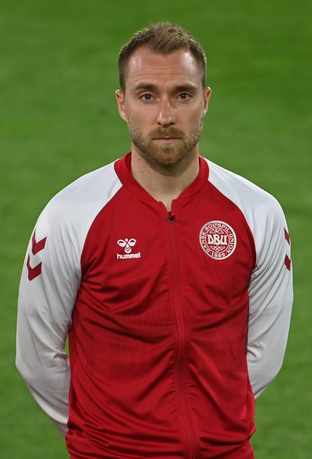 Dansih footballer Christian Eriksen pictured earlier this