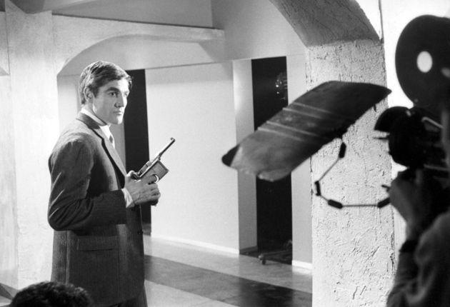 Nino Benvenuti sul set dell'Agente 00SIS, novembre 1965 (foto Farabola-Archivio Bovi)