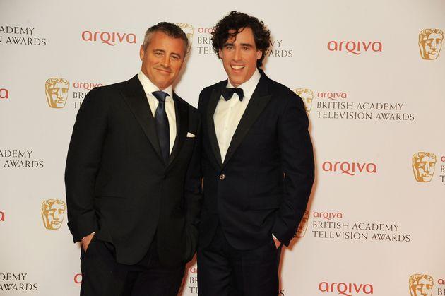 Matt LeBlanc and Stephen Mangan pictured in 2013