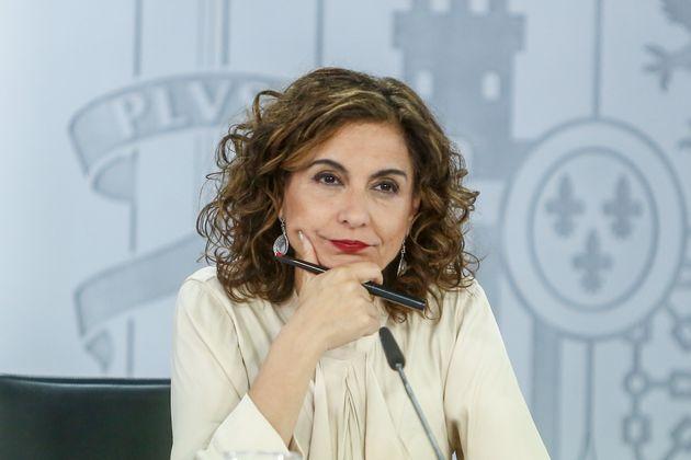 María Jesús Montero, ministra