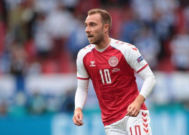 Soccer Football - Euro 2020 - Group B - Denmark v Finland - Parken Stadium, Copenhagen, Denmark - June...