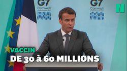 Vaccin anti-Covid: la France double son engagement pour les pays