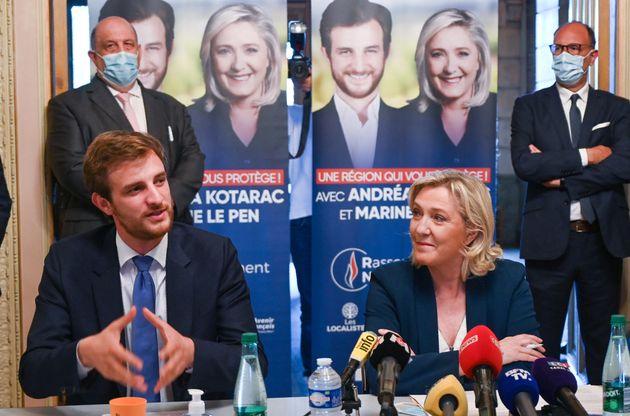 Juliette Planche, qui a relayé des propos antisémites, est en position éligible sur la liste RN d'Andréa...