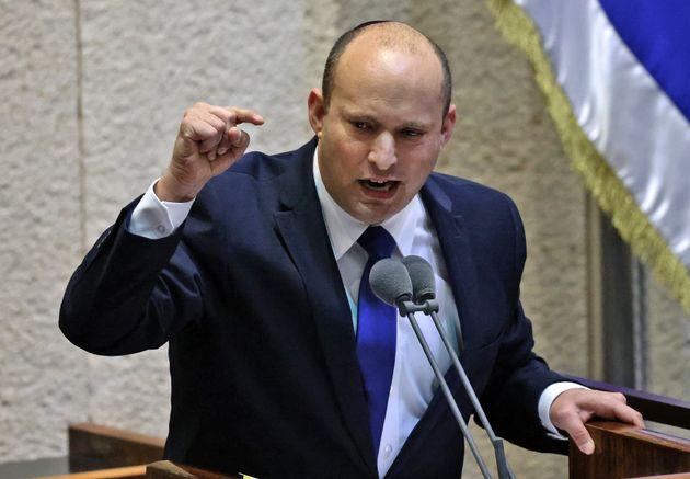 Naftali Bennett, ici à la Knesset à Jérusalem en Israël, le 13 juin