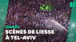 À Tel-Aviv, des milliers de personnes fêtent le départ du pouvoir de
