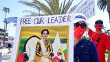 Myanmar has been in turmoil since the military ousted civilian leader Aung San Suu Kyi in February, with protesters refusing to submit to the junta and demanding a return to democracy.