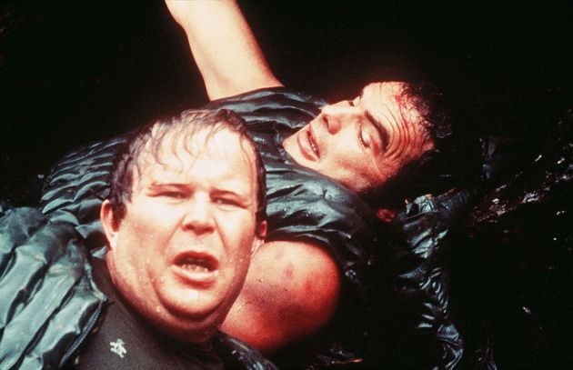 Ned Beatty with Jon Voigt in