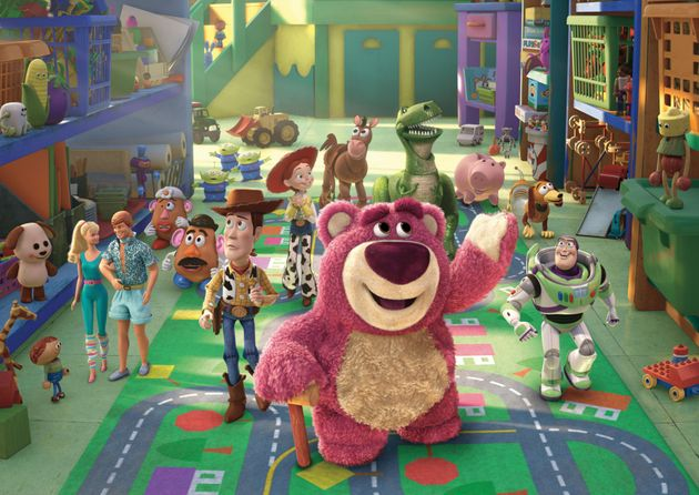 Ned voiced Lotso the bear in Toy Story