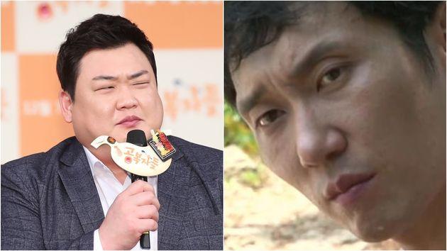 김준현/이승윤 ('나는 자연인이다'에서생선 대가리 카레를 보고 지은 표정, '전설의 눈빛' 짤로