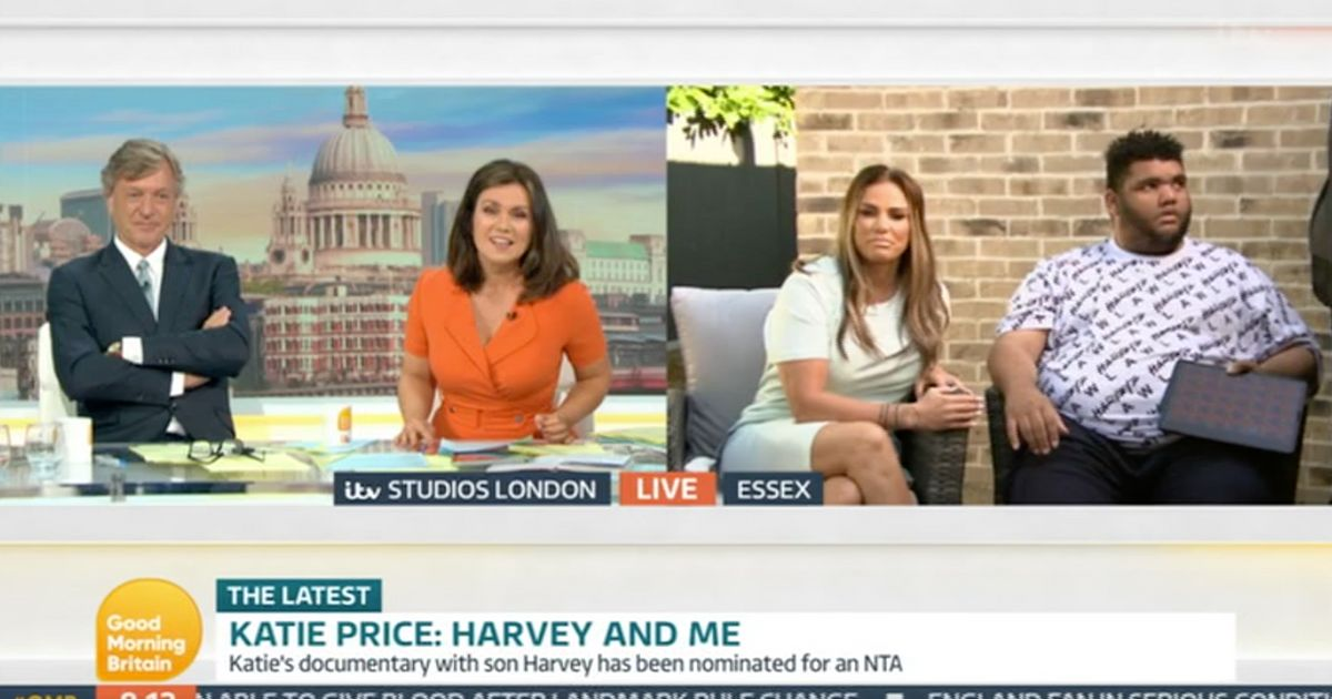 Good Morning Britain Apologises After Harvey Price Drops F-Bomb Live On Air