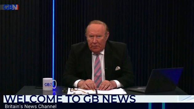 Andrew Neil left GB News last month after launching the channel in