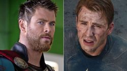 El delirante troleo de Chris Hemsworth a Chris