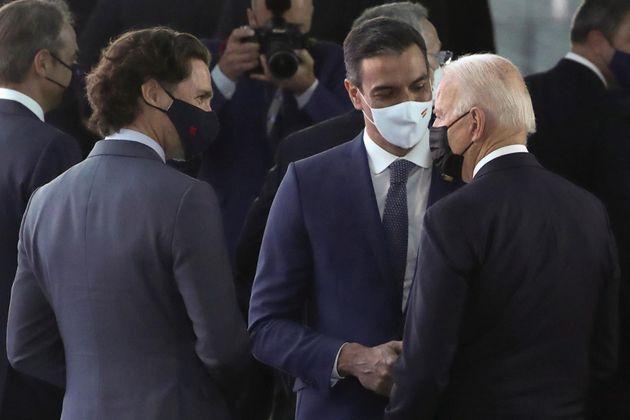 Trudeau, Sánchez y