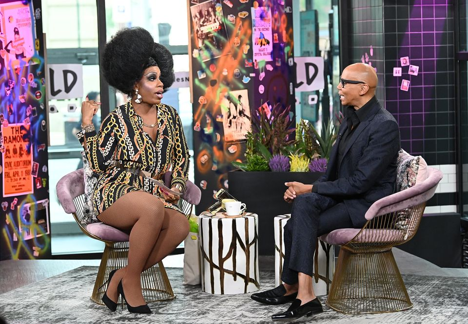 Monét X Change interviewing RuPaul on The X Change
