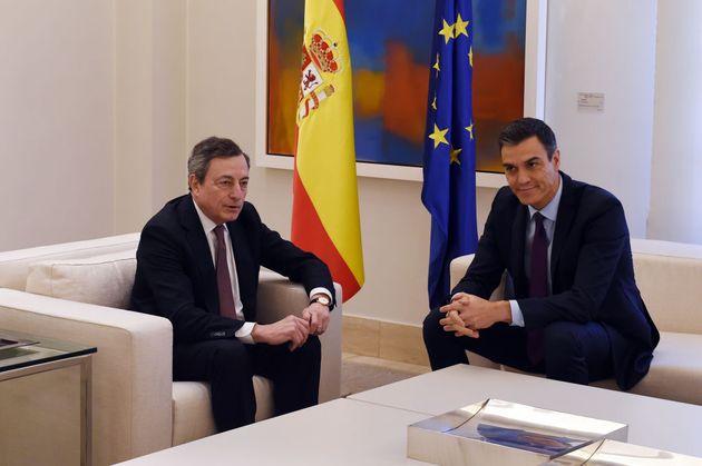 Draghi incontrerà Sanchez in una Barcellona più